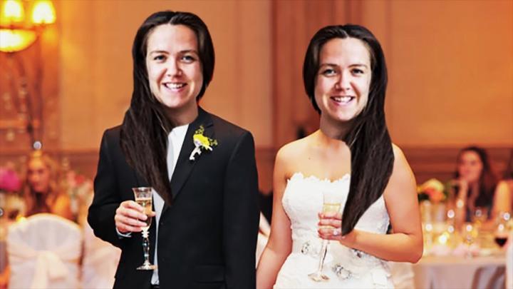 married herself